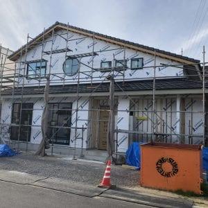 モデルハウス進捗
