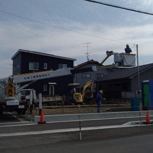 喜多川モデルハウス着工