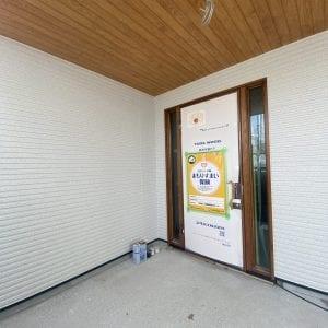 【現場紹介】軒天と外壁の塗装が完了しました